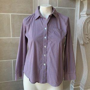 Theory Stripe Cotton Shirt